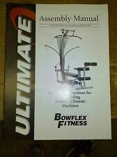 Bowflex Ultimate 1 Assembly Instruction Direction Parts Manual