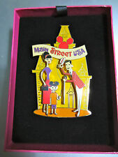Disney 50th Anniversary SHAG Main Street USA Jumbo Box pin LE 1955