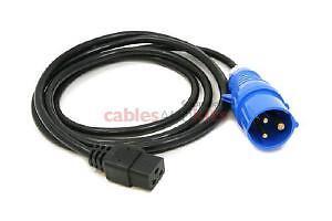 2 x Cisco CAB-AC-2500W-INT= - Power Cord, 250Vac 16A, INTL 72-2103-01