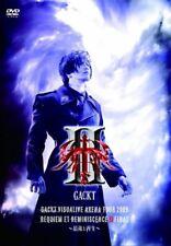 GACKT Visualive Arena Tour 2009 Requiem et Reminiscene II Final DVD