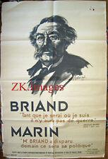 ARISTIDE BRIAND Politique Socialiste GABORIAUD Aff 1932