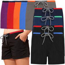Outdoor Look Womens Krista Contrast Elasticated Swim Shorts