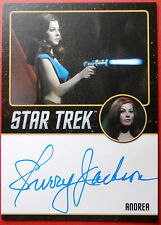 STAR TREK TOS 50th SHERRY JACKSON as Andrea, LIMITED EDITION Autograph Card
