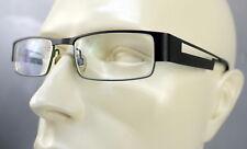 13b7cff8ca VTG KLIIK Eyeglass Frame DENMARK Half Rim MATTE Green Charcoal 140 51 18
