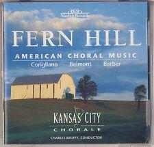 Corigliano Belmont Barber - Bruffy: American Choral. Fern Hill (Nimbus) Like New