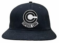 Dragon Ball Z Capsule Corp Symbol Officially Licensed Snaback Hat