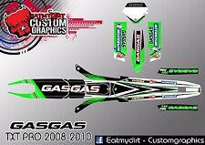 GASGAS TXT PRO 2008-2010 CUSTOM GRAPHICS KIT TRIALS DECALS MOTOCROSS STICKERS