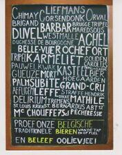 Br Duvel La Chouffe Palm Orval Delirium Leffe /  Oudere  POSTKAART Exp. NL