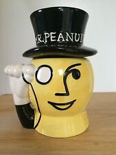 Planters Mr Peanut Cookie Nut Jar Nabisco Classic Collection Black Yellow