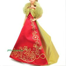 Barbie Fashion Glamorous Gala Gown and Faux Fur Boa Outfit New 2003