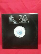 "B.G. – I Know :  Format: Vinyl, 12"", Single"