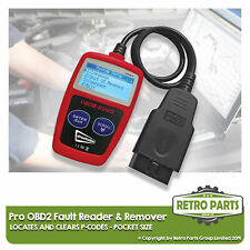 Pro OBD2 Code Reader for Volvo. Diagnostic Scanner Engine Light Clear