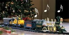 Real Moving Train Set for Around the Christmas Tree Decoration w/ Light & Sounds