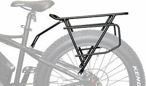 New Rambo Bikes Extra Large Cargo/Luggage Rear Bike Rack Black