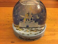 Disney World Parks Tinker Bell Cinderella Castle Snowglobe Water Globe