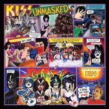 Kiss - Unmasked Vinyl LP 80's Metal Sticker or Magnet