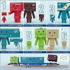 New Tomy Container Danbo Gacha Collection N Gauge Complete 6 Set
