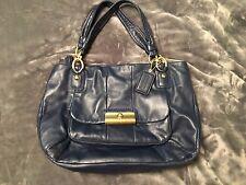 Coach Kristin Leather Zip Top Tote Bag Purse 16814 Shoulder