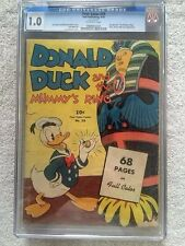 Donald Duck Four Color #29 Dell Sept 1943 CGC 1.0 off-white pages free shipping