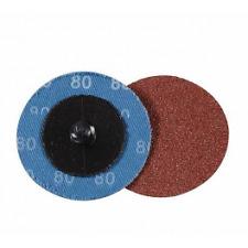 Kit 5 disques abrasifs à changement rapide 50 mm, grain P80