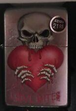 Zippo skeleton Love Bites
