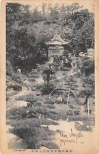 CPA JAPON ECRITE EN JAPONAIS UNE CHAPELLE JAPONAISE