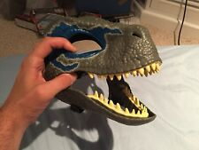Jurassic Park World Legacy VELOCIRAPTOR BLUE Dino Rivals Mask New With Tags RARE