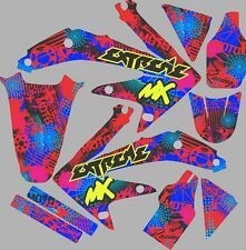 Graphic Kit for 2005-2008 Honda CRF450 CRF 450 r Vibrant colors Decal Graphic