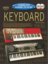 COMPLETE LEARN TO PLAY KEYBOARD MANUAL How To Play Tutor Sheet Music & 2 x CDs