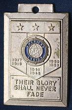 1953 Korean War Era Veterans American Legion Pendant