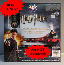LIONEL HARRY POTTER HOGWARTS EXPRESS SET BOX ONLY train 6-83620 BOX ONLY!