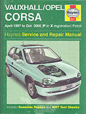 New Haynes Manual Vauxhall Opel Corsa Petrol 97-00 Car Workshop Repair Book 3921
