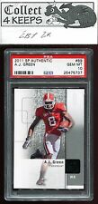 2011 SP Authentic #89 A.J. Green RC PSA 10 (Rookie Cincinnati Bengals) *B*