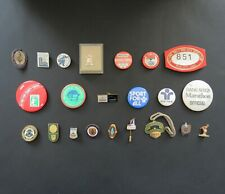 Vintage Sports Lapel Badges / Pins – Sold Individually - Olympics, Cricket etc.