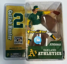 McFarlane Cooperstown Collection Series 2 Oakland Athletics Catfish Hunter Moc