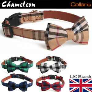 Bow Tie Collar for Pet Dog Puppy -3 sizes adjustable up to 35 45 55cm