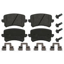 Rear Brake Pad Set Inc Additional Parts Fits Audi Seat Volkswagen CC Febi 16991