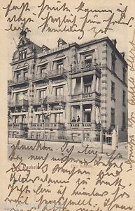Bad Nauheim AK 1907 Villa Hubertus Hessen 1606482