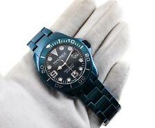 HAUREX Italian Design Men's Watch Aluminium Ref 7K374UB2 Blue Metallic 5ATM NEW