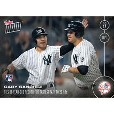 2016 Topps Now #509-A Gary Sanchez (RC)  New York Yankees   Print Run: 1,893