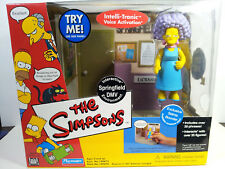 World of Simpsons Springfield Dmv Environment with Selma Bouvier Wos Exclusive