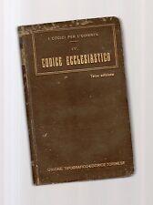 codice ecclesiastico- la legislazione ecclesiastica vigente  - may vttyttsmo