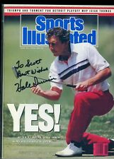 HALE IRWIN US OPEN GOLFER NO LABEL SPORTS ILLUSTRATED autographed signed