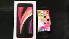 New Apple Red iPhone SE 2020 Edition 64GB Network CLARO