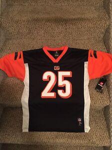 Cincinnati Bengals Gio Bernard NEW youth kids jersey NFL Team apparel