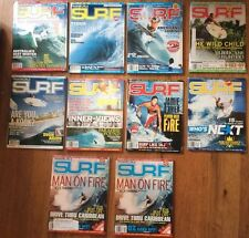 Transworld Surf Magazine 2007 2008 Lot Of 10 Issues Vol.9 Surfer Surfing