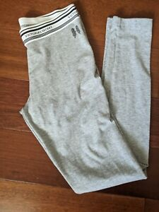 Victoria's Secret gray lounge pants leggings small skinny full length VS Joggers