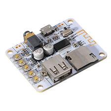 Bluetooth Audio Receiver Digital Amplifier Board With USB Port TF Card Slot Deco