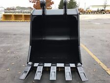 "New 48"" John Deere 350 Severe Duty Excavator Bucket w/ Coupler Pin"