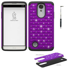 Phone Case For LG Rebel 2, LG Aristo, LG Fortune Dual-Layered Crystal Cover